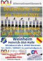 Deutschland-Cup der Jugend vom 11.-12. Dezember 2021 in Weinheim