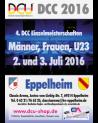 Vorläufe bei den 4. DCC Einzelmeisterschaften 2016 der Frauen, Männer und U23 vom 02.-03. Juli 2016 in der Classic Arena Eppelheim