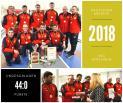 Saison 2017/2018: Ehrungen des Deutschen Mannschaftsmeisters sowie den 2. und 3. Platzierten der 1. Bundesliga Männer