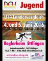 2. DCU Ländervergleich 2016 der U 14  Mannschaften in Ettlingen